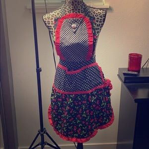 Hand Made Vintage Style Apron
